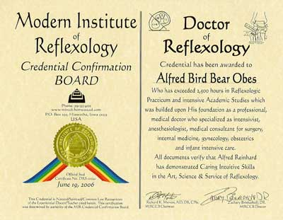 Modern Institute of Reflexology